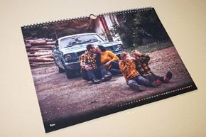 Nástěnný kalendář s vlastní fotografií A3 - šířkový