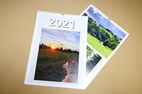 Nástěnný kalendář s vlastní fotografií A3 - výškový