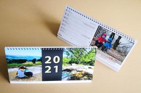 Stolní týdenní kalendář, větší