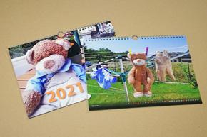 Nástěnný kalendář s vlastní fotografií - šířkový