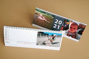 Stolní týdenní kalendář, klasický, jmenný