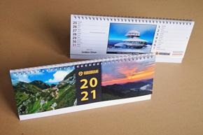 Stolní dvoutýdenní kalendář, pracovní, Vysoká nad Labem