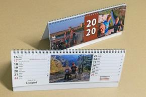 Stolní dvoutýdenní kalendář, Rodinný