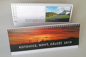 Stolní týdenní kalendář