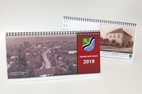 Stolní týdenní kalendář, pracovní, Vysoká nad Labem