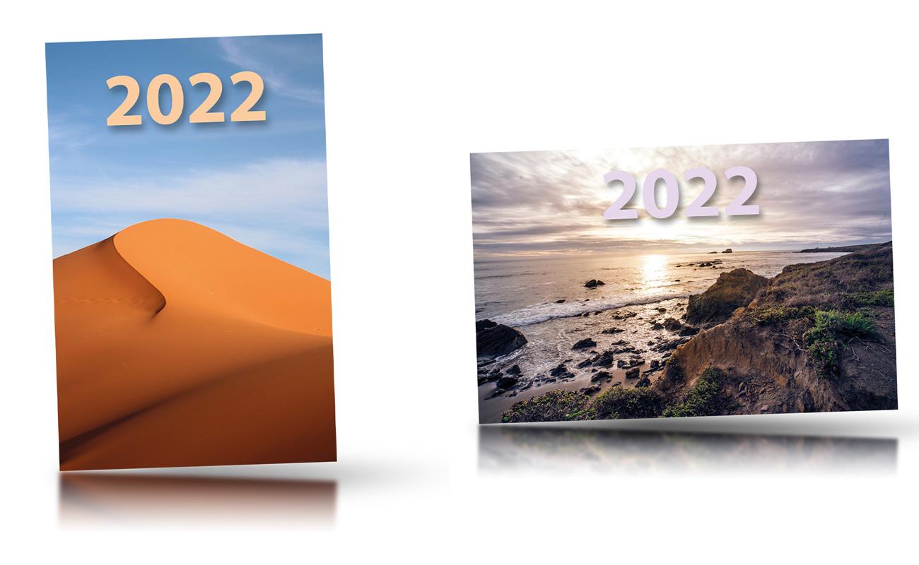 náhled kalendáře - kapesní -  85×55 mm - titulní stránka