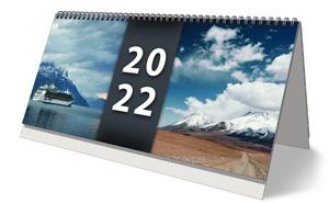 Plánovací stolní týdenní kalendář pro rok 2022 - titulní stránka