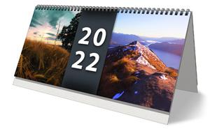 Pracovní stolní týdenní kalendář pro rok 2022 - titulní stránka